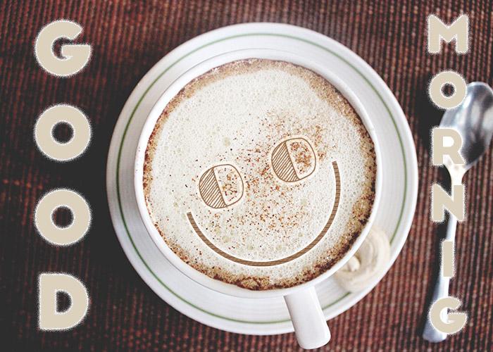 Good Morning Smiley Coffee