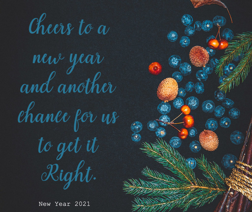 Happy New Quotes Cheers to a new year and another chance for us to get it right. <div class=