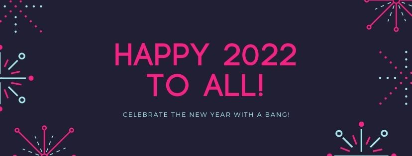 Happy New Year 2022 Image with Bulbs