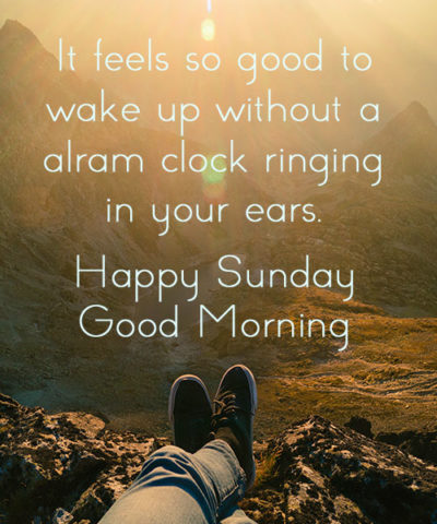 Happy Sunday Good Morning 7