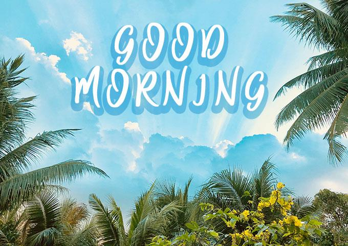 Good Blue Morning Nature Images